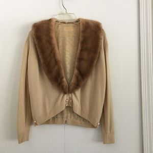 Vintage Cashmere and Mink Sweater
